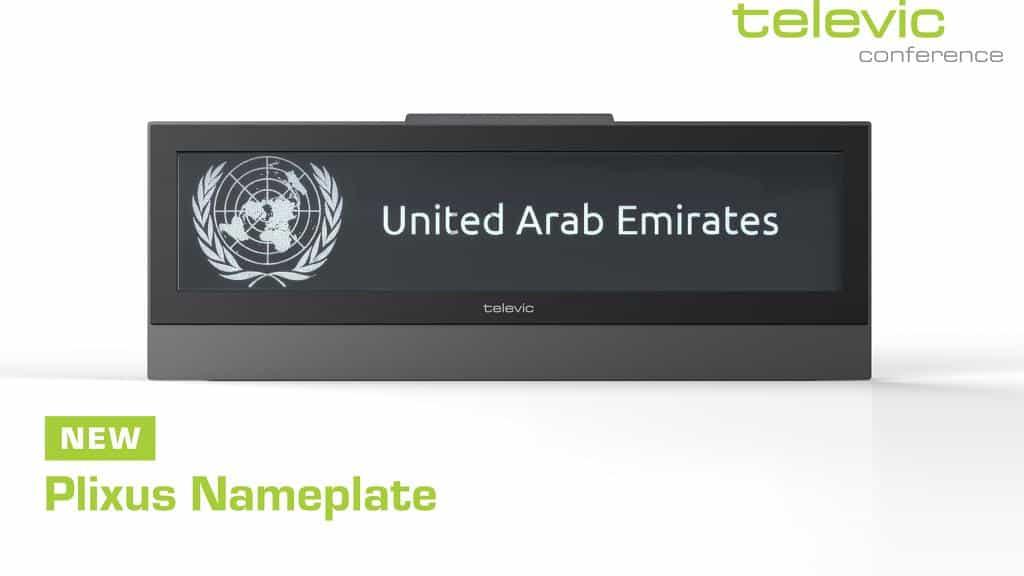 Plixus Nameplate United Arab Emirates