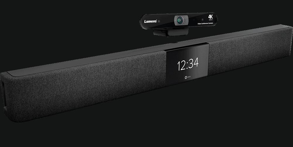 Barre de son et captation HDL200 Nureva avec caméra USB VC-B11U Lumens