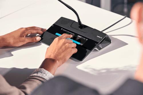 Système de conférence filaire FLEX G4 Televic Conference