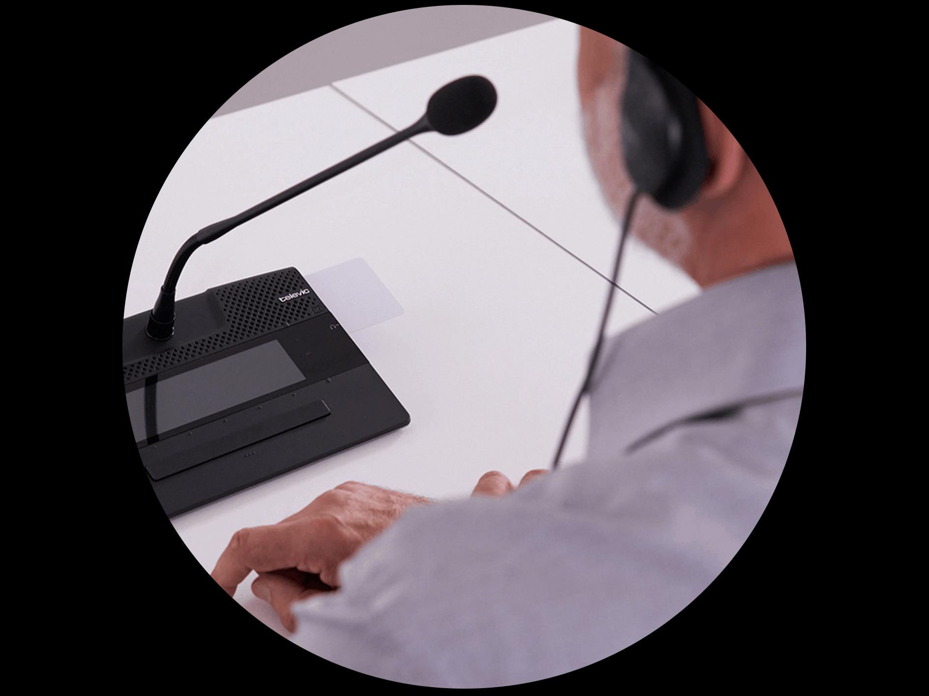 Système de conférence - accessoires - Televic Conference