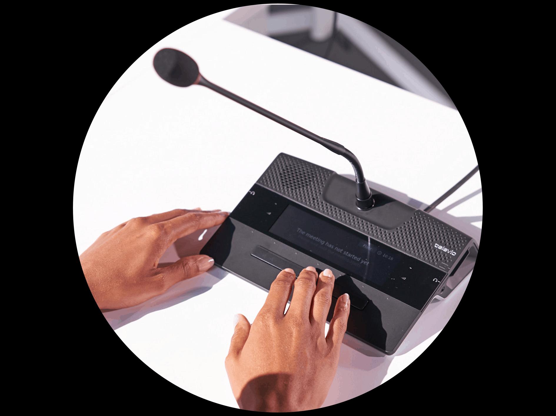Système de conférence filaire - Televic Conference