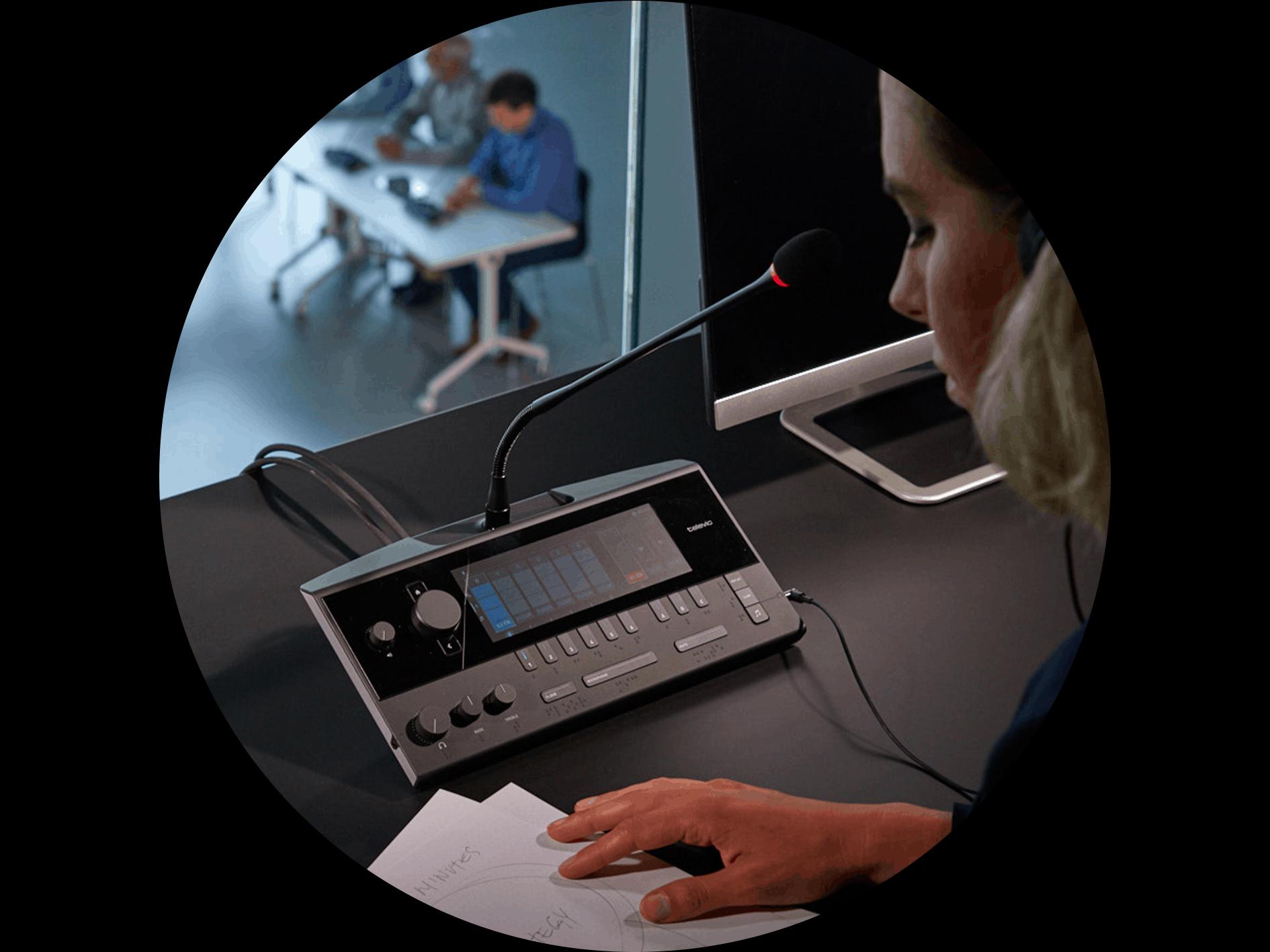 Système d'interprétation simultanée Lingua - Televic Conference