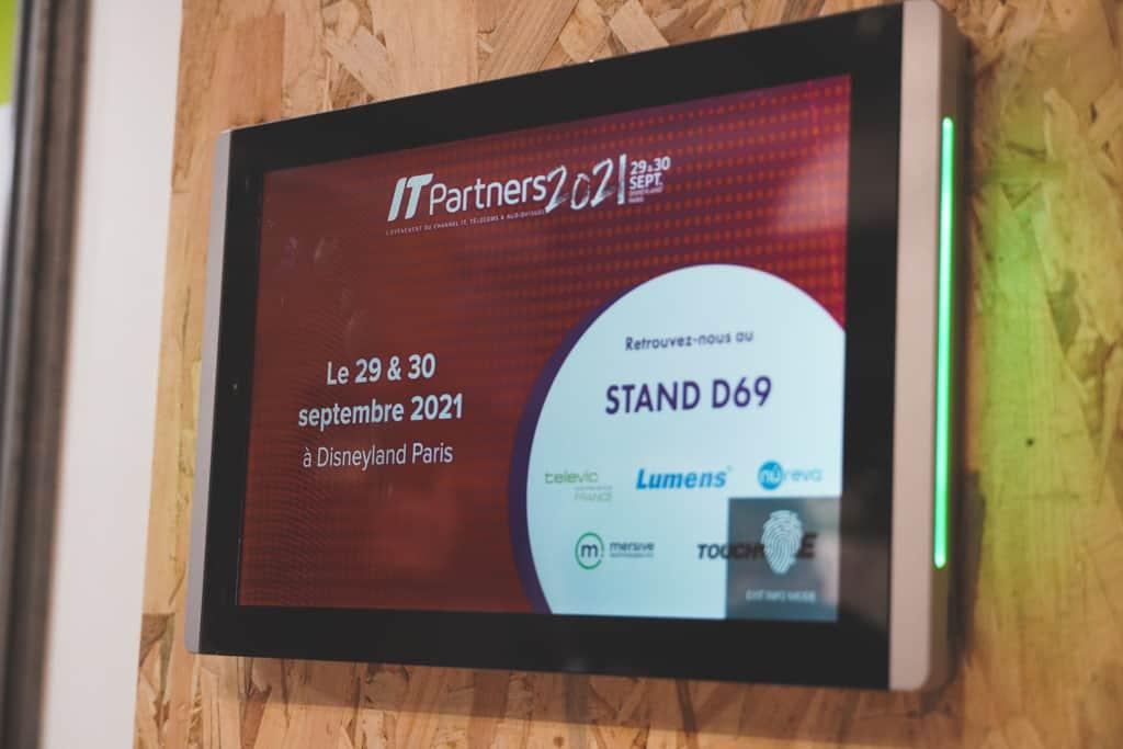 IT Partners 2021 - écran tactile touchONE